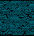 circuit board seamless pattern background of vector image