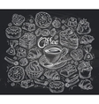 confectionery a set sketches vector image