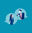 consult with call center concept busines vector image