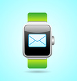 Smart Watch in vector image