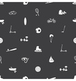 summer sports and equipment icon pattern eps10 vector image vector image