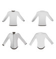 T-shirt template white front design back blank