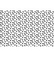 black white scattered dots polka background vector image vector image