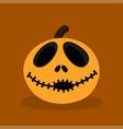 halloween happy pumpkin vector image