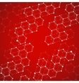 Molecule DNA Abstract background vector image vector image