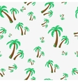 Seamless - palm tree vector image vector image