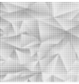 Black and White Halftone Pattern vector image
