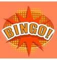 Cartoon BINGO Design element vector image vector image