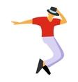 Dance flat symbol vector image vector image