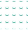 equalizer icon pattern seamless white background vector image vector image