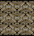 greek abstract seamless pattern vector image vector image