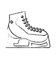 Isolates ice skate design vector image vector image