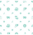 patient icons pattern seamless white background vector image vector image