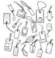 set various tags vector image