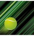 Tennis background design vector image