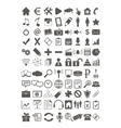 Webdesign flat icons set vector image vector image