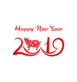 zodiac of the pig chinese new year s year the pig vector image vector image