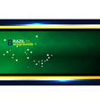 abstract banner brazil backgrounds vector image