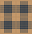 blue and beige tartan plaid seamless pattern