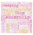 Can Leadership help Your Career text background vector image vector image