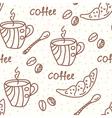 coffeepot vector image vector image