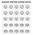 Guage vector image vector image