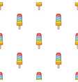 ice lolly icon in cartoon style isolated on white vector image vector image