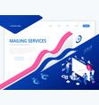 Isometric mailing list or mailing services online