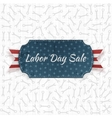 Labor Day Sale festive paper Label vector image vector image