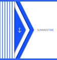 material-design-blue-sea vector image