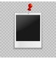 Realistic photo frame for your design vector image vector image