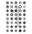 typo design element series vector image vector image