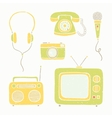 appliances and accessories vector image vector image