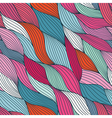 colorful seamless abstract hand-drawn pattern vector image vector image