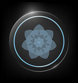geometric arabic pattern logo element for your