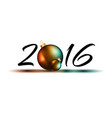 2016 design element vector image