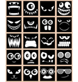 Avatars black vector | Price: 1 Credit (USD $1)