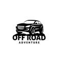 off road adventures car vector image