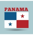 panama country flag vector image