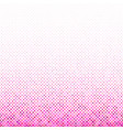 pink abstract geometric circle pattern background vector image vector image
