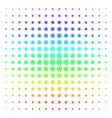 virus shape halftone spectral effect vector image