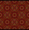 bohemian oriental seamless gemstone petal pattern vector image vector image