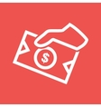 Money Sharing vector image