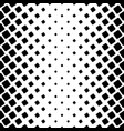monochromatic square pattern - geometric abstract vector image vector image