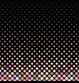 pink abstract geometrical dot pattern background vector image vector image