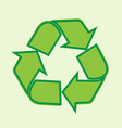 reuse reduce recycle design vector image
