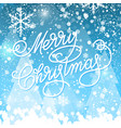 shining christmas colorful background vector image