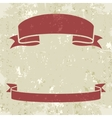 Set of banner ribbons vector image