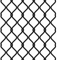 black and white geometric seamless pattern modern vector image vector image