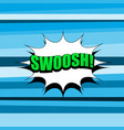 comic bright abstract template vector image